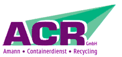 ACR Containerdienst & Recycling GmbH - Logo